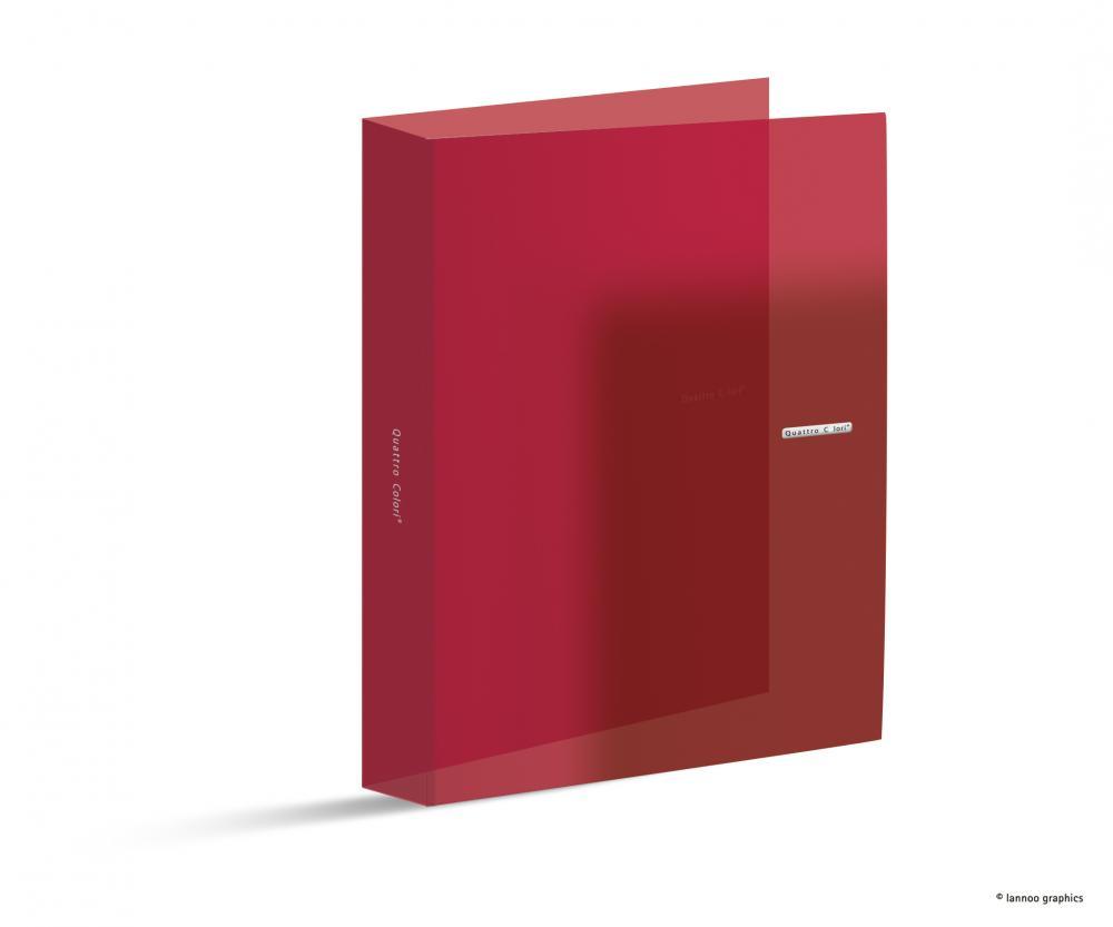 zzCaiet mec.QuattroColori,PP,2in,3cm,rosu