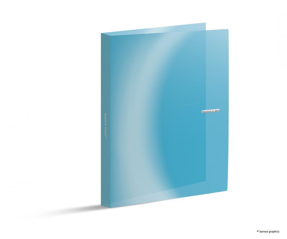 zzCaiet mec.QuattroColori,PP,4in,mini,bleu