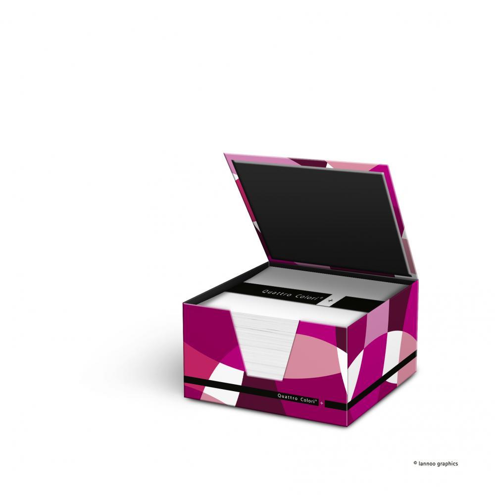 zzCub hartie suport,400,QuattroColori+,rosu