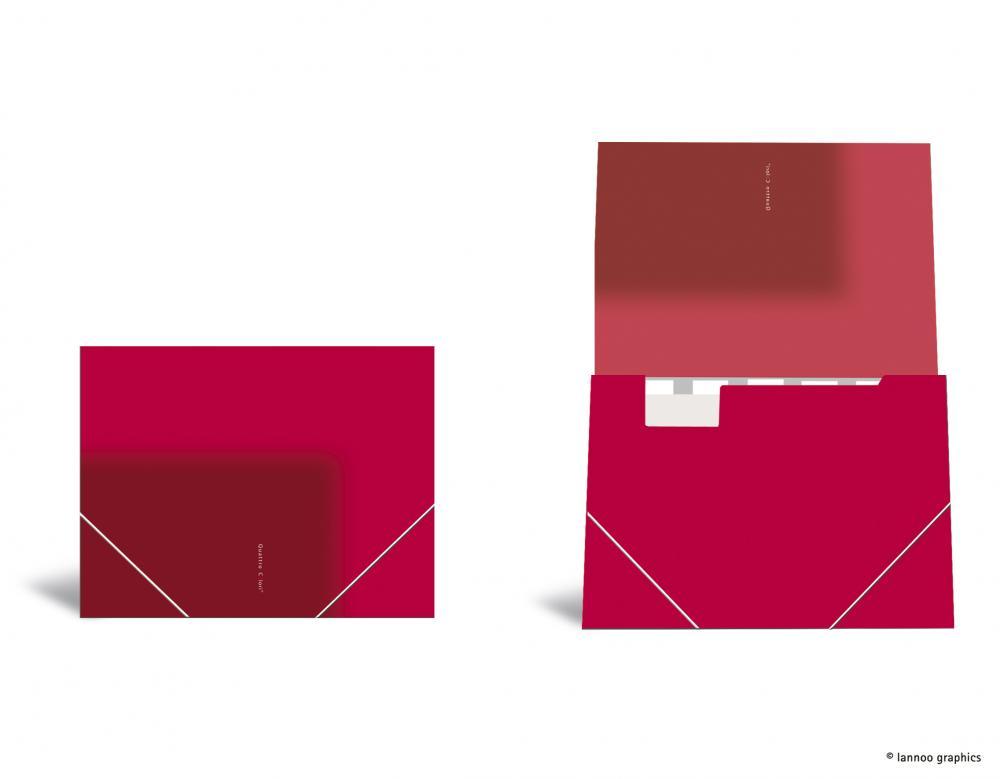 zzMapa cu elastic ,QuattroColori,rosu