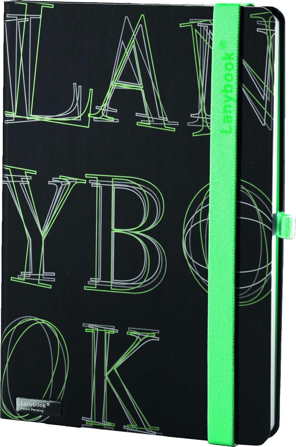 Agenda A6,LYO-Reflex,verde,mate