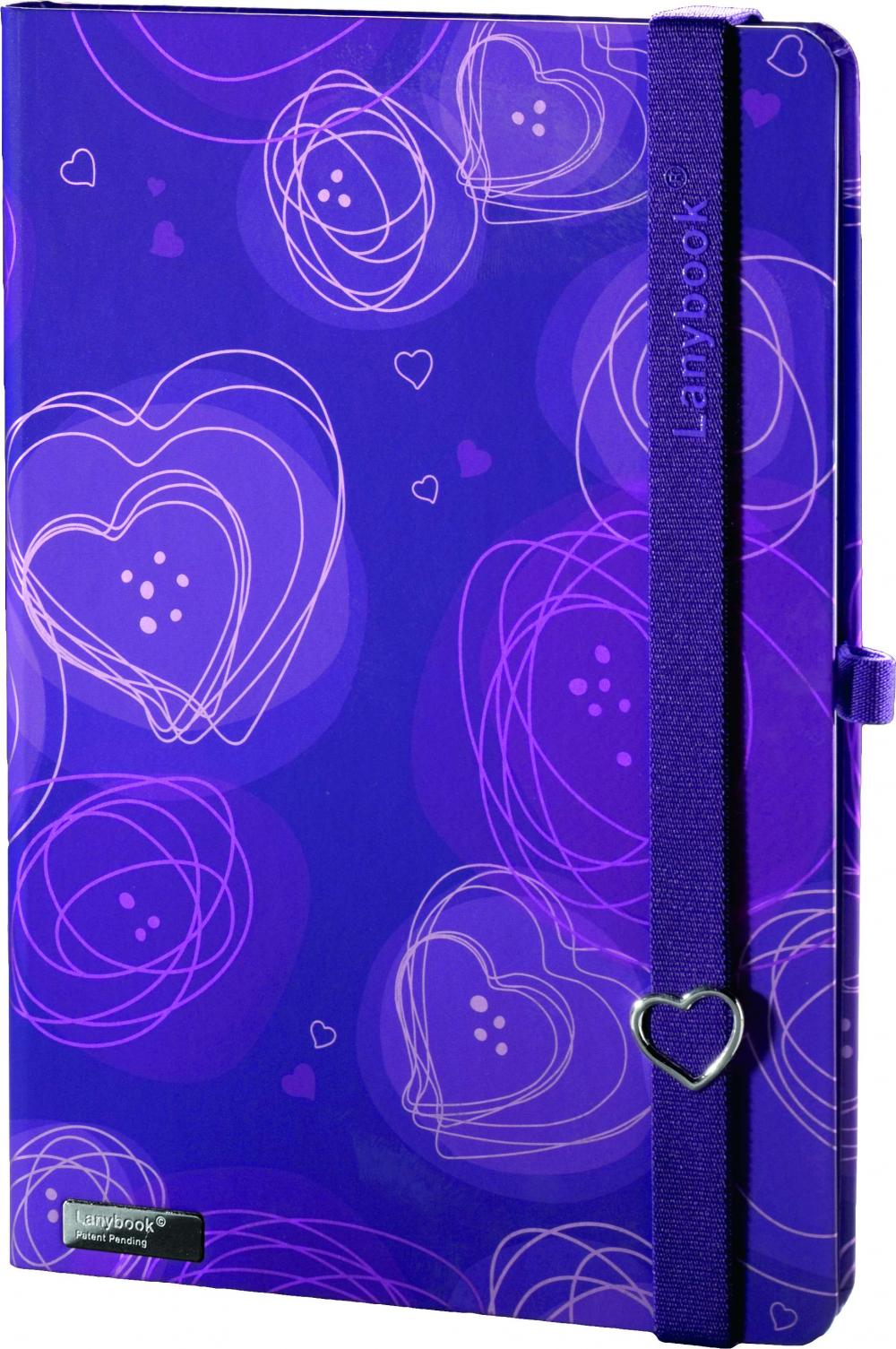 Agenda A5,Dreamy Love,violet,velin