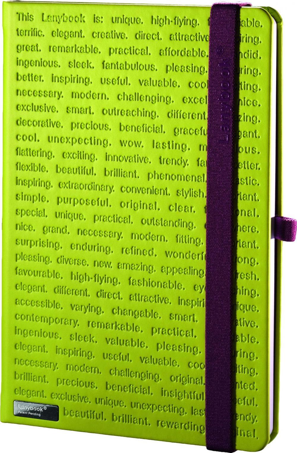 Agenda A6,The One 3,verde,velin