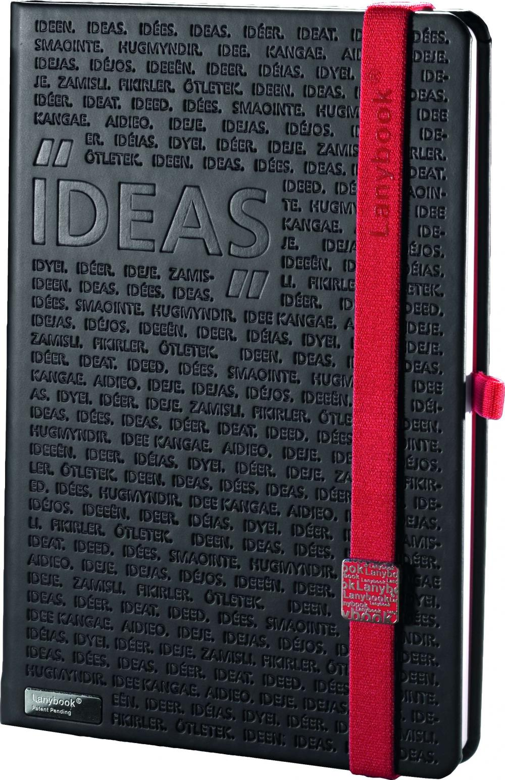Agenda A5,Idea Factory,negru/rosu,dict