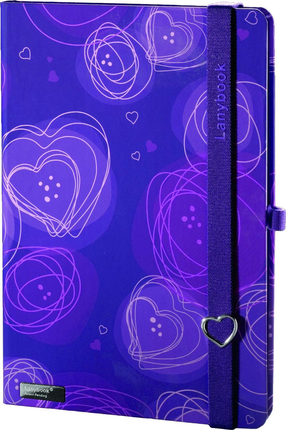 Agenda A5,Dreamy Love,violet,dict