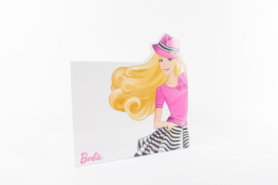Planseta pentru plastilina, Barbie