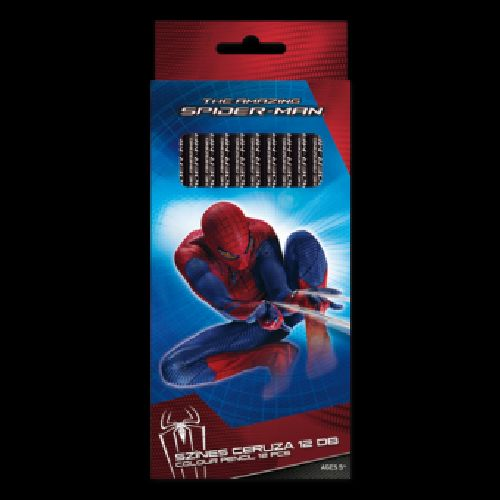 Creioane colorate 12 buc/set,Spiderman