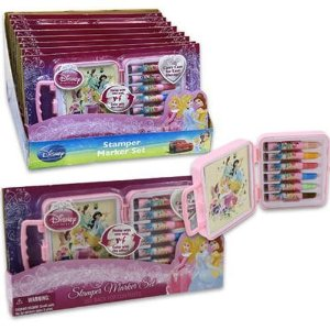 Markere copii,10b/cutie carton,Princess