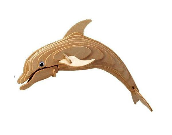 Puzzle 3D Delfin