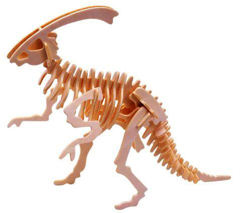 Puzzle 3D Parasaurolophus