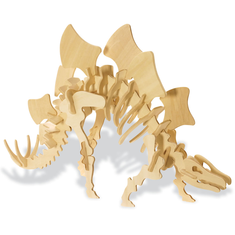 Puzzle 3D Stegosaurus