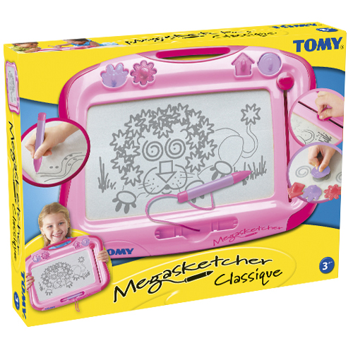 Tabla de desenat magnetica roz