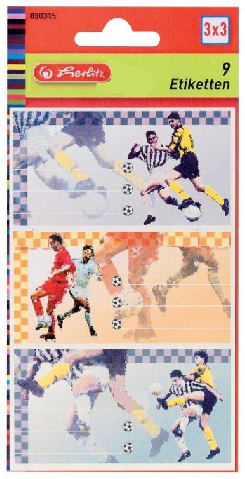Etichete 9buc/coala,Fotbal