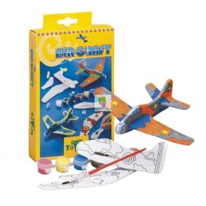 Set creatie puzzle din spuma,avion