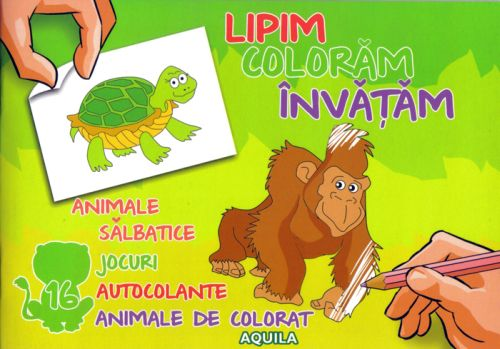 LIPIM, COLORAM, INVATAM. ANIMALE SALBATICE