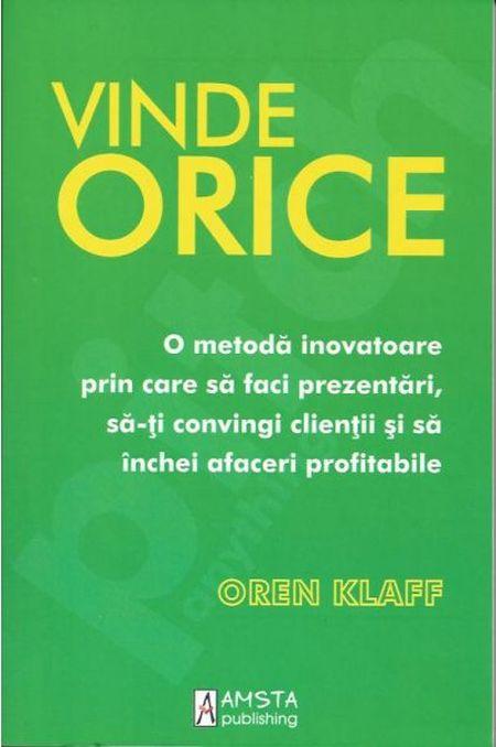 VINDE ORICE
