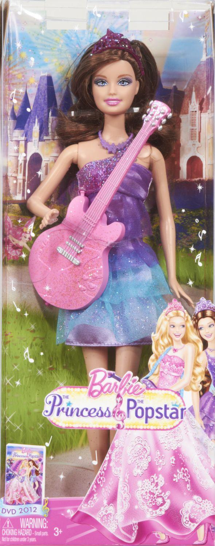 Papusa Barbie cu chitara, div. modele