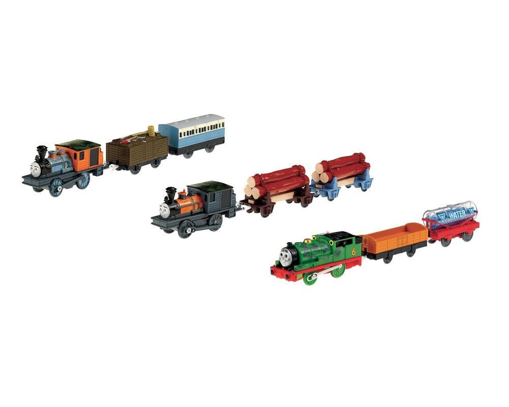 Trenulet Thomas cu 2 vagoane,div. modele
