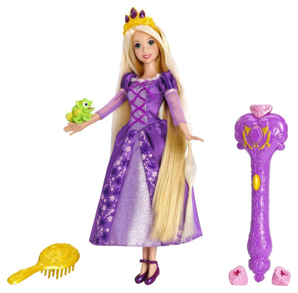 zzPrintesa Disney Rapunzel in lumina magica