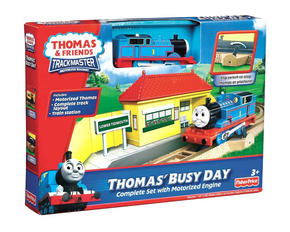 Trenulet Thomas o zi ocupata