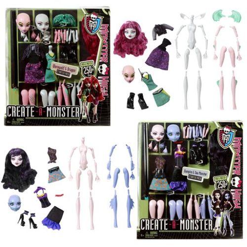 zzPapusa Monster High, Creaza 2 modele