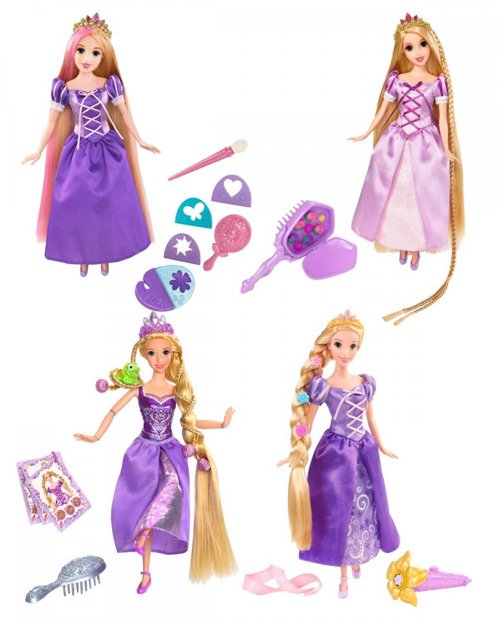 zzPrintesa Disney Rapunzel coafura