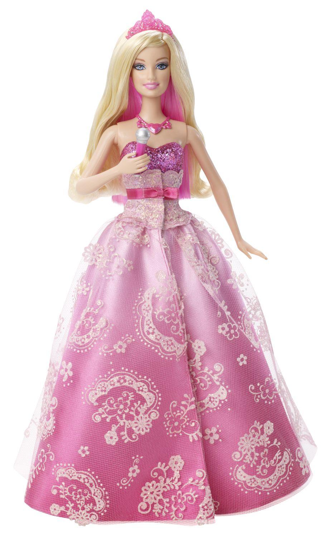 zzPapusa Barbie Printesa, cu sunete