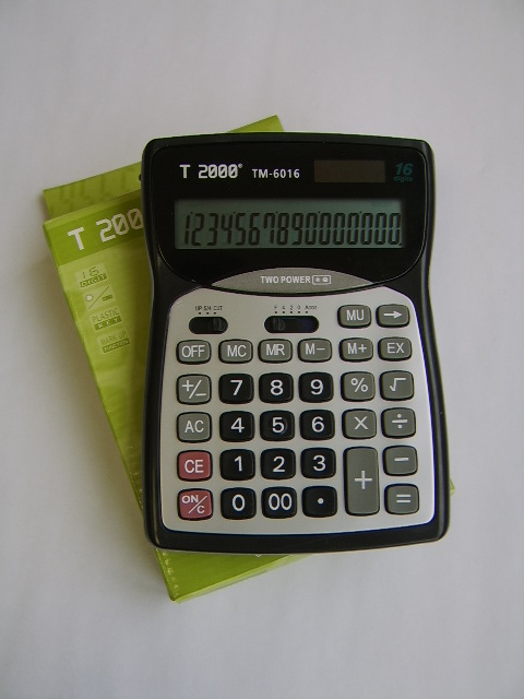 Calculator birou T2000, 16 digiti
