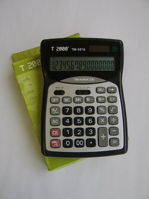 Calculator birou T2000, 16 digiti