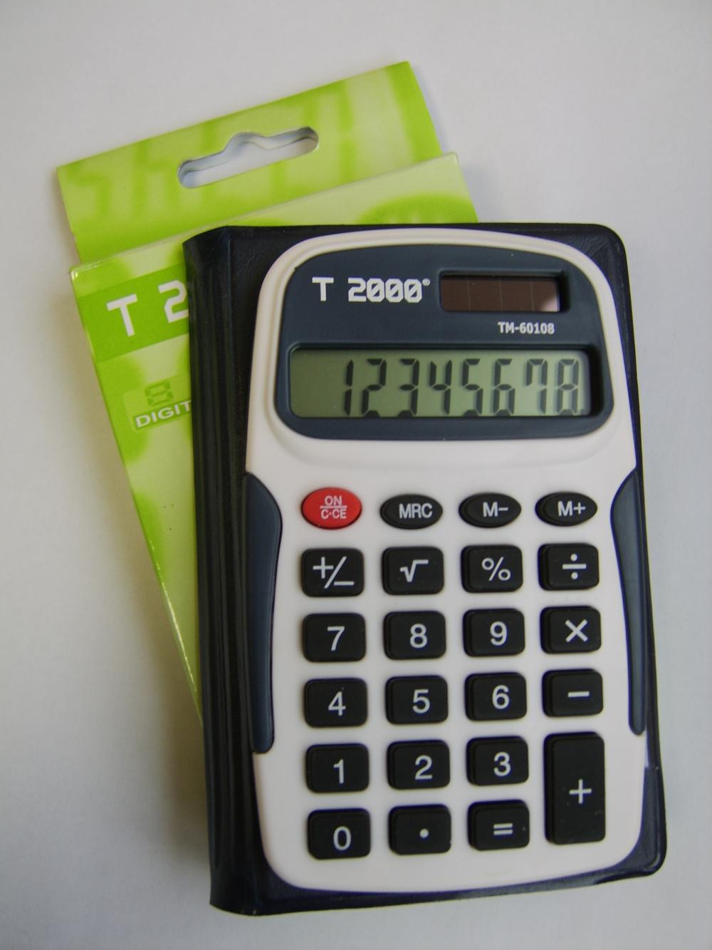 Calculator de birou T20 00, 8 digiti, cu etui