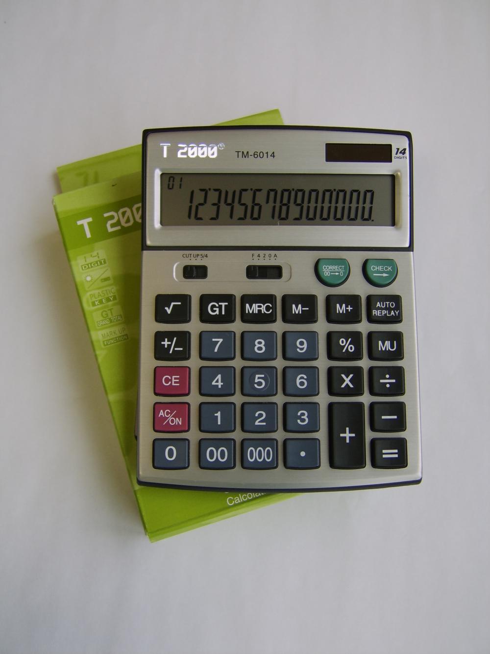 Calculator birou T2000, 14 digiti