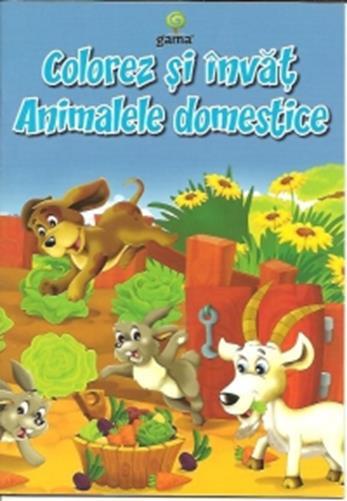 Colorez si invat animalele domestice