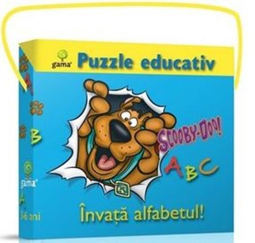 INVATA ALFABETUL! PUZZLE EDUCATIV