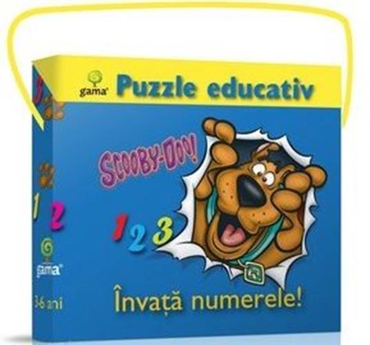 INVATA NUMERELE! PUZZLE EDUCATIV