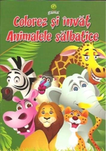 COLOREZ SI INVAT ANIMALELE SALBATICE/ COLORAT A5.12