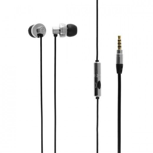 Casti Skullcandy Titan Chrome Black Mic