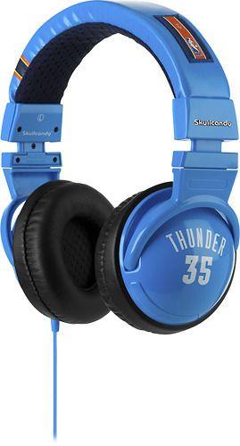 Casti Skullcandy Hesh NBA Thunder Blue Orange