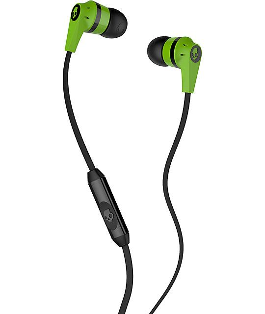 Casti Skullcandy Ink'd Green Black
