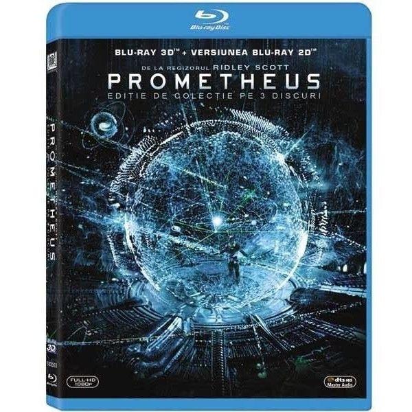 PROMETHEUS 3D (3 discs)