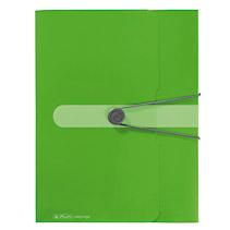 Mapa PP EO A4 cu elastic,40mm,verde opac