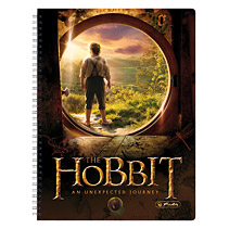 Caiet cu spira A4,The Hobbit,Middleearth