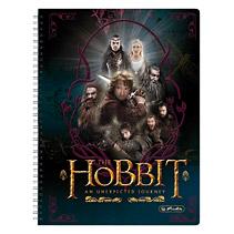 Caiet cu spira A4,The Hobbit,Hobbit&Friends