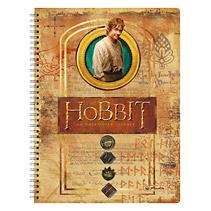 Caiet cu spira A4,The Hobbit,Hobbit Bilbo