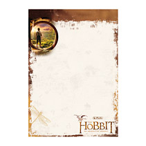 Blocnotes A6,50 file,The Hobbit,Hobbit Middleearth