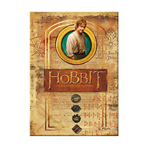 Caiet A5, 96 file, coperta tare,The Hobbit,Hobbit Bilbo