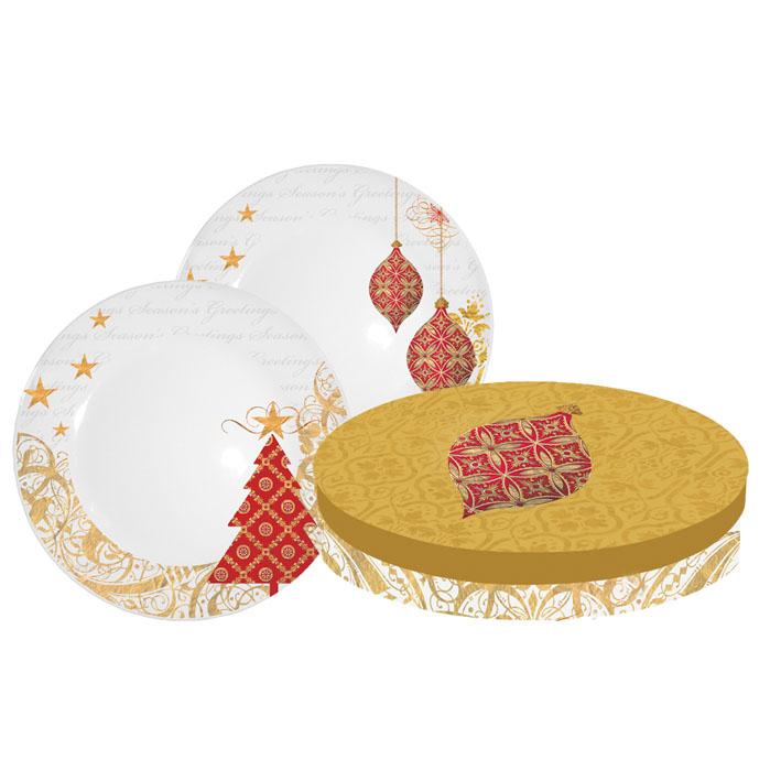 Set farfurii cadou Holiday Ornaments