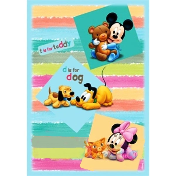 zzCovor Michey Mouse Babies 313 140x200