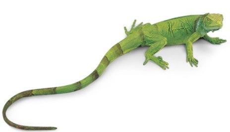 Figurina Safari, pui de iguana