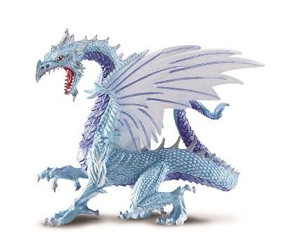 Figurina Safari,dragon de gheata