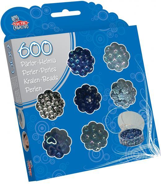 Set creativ margelute albastre
